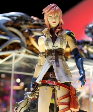 Des figurines pour Final Fantasy XIII