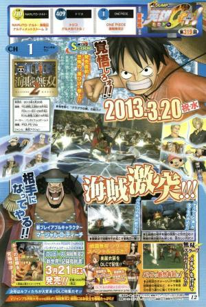 Barbe Noire présent dans One Piece : Pirate Warriors 2