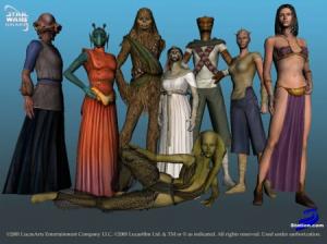 Les filles de Star Wars Galaxies