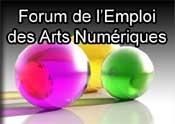 Le 1er forum pour l'Emploi des Arts Numériques