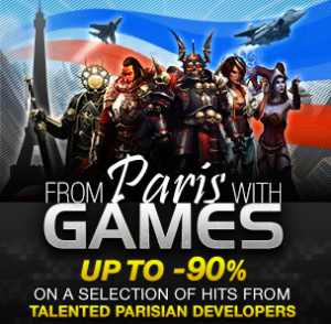 Les jeux français à l'honneur sur Steam