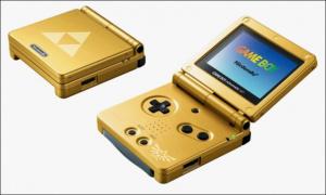La GBA SP aux couleurs de Zelda
