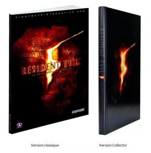Un guide stratégique collector pour Resident Evil 5