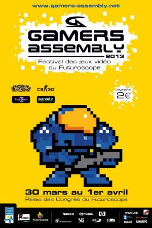 Gamers Assembly 2013 : plus que quelques places pour s'inscrire aux tournois !