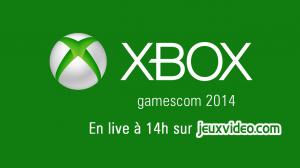Live gamescom : Conférence Microsoft à 14h sur Gaming Live TV