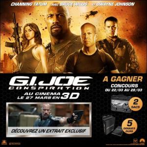 Résultats du concours G.I. Joe Conspiration