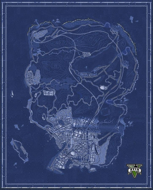 La map non officielle de GTA V