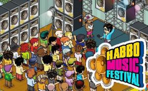 Habbo Music Festival : le premier festival virtuel de musique