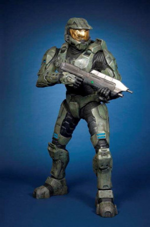 Oh, une bougie Master Chief