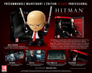 Une édition Deluxe Professionnal pour Hitman Absolution