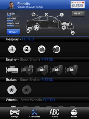 GTA 5 : La companion app iFruit