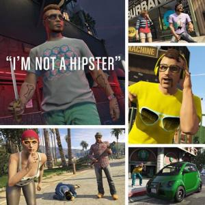 GTA Online : La MàJ « Hipster toi-même » disponible