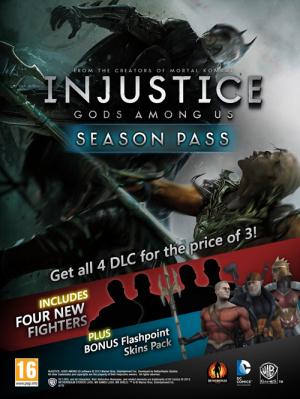 Un Season Pass pour Injustice : Les Dieux sont Parmi Nous