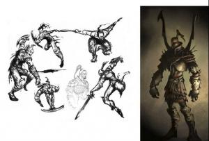 Le design originel de Kratos !