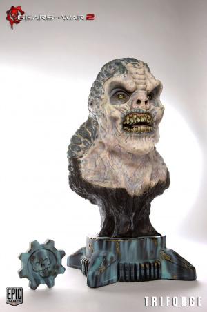 Un buste de Locuste pour Gears of War