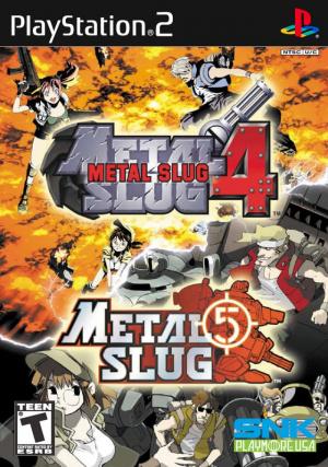 Metal Slug 4 & 5 sur Xbox et PS2