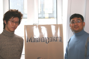 Magna Carta : Interview de Choi Yeon-Kyu et Hyung-Tae Kim