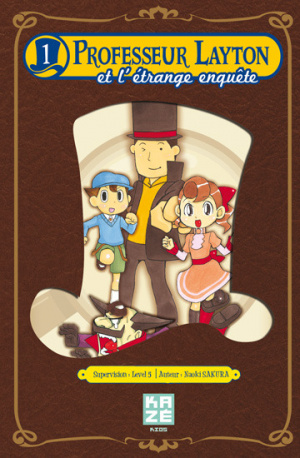 Kazé lance le manga du Professeur Layton