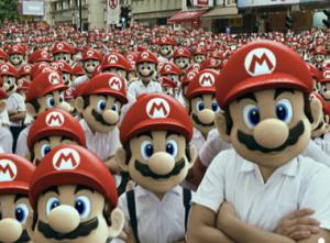 Ventes de jeux au Japon : Mario a un serpent dans son fourreau