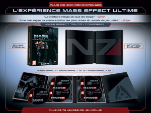 Electronic Arts annonce Mass Effect Trilogy