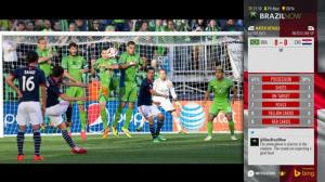 Xbox One : Une application pour la Coupe du Monde de football