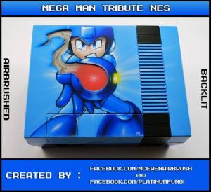 Une NES aux couleurs de Megaman