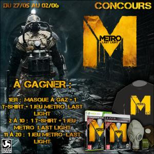 Concours Metro : Last Light