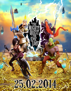 The Mighty Quest for Epic Loot bientôt en bêta ouverte