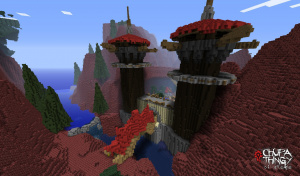 L'univers de WoW recréé dans Minecraft!