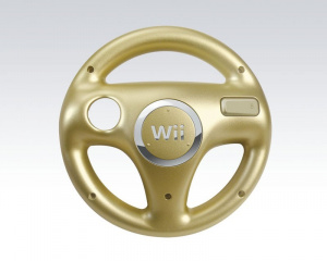 Un volant d'or pour Mario Kart Wii