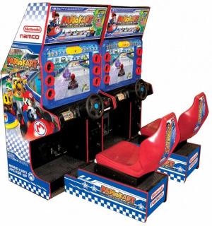 Mario Kart en arcade aux Etats-Unis