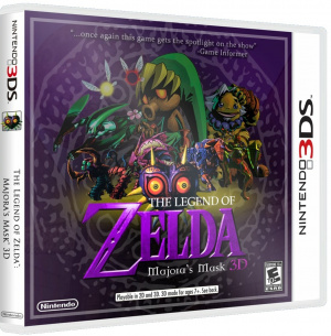 The Legend of Zelda : Majora's Mask 3D confirmé