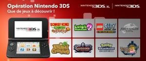 """Nintendo lance l'opération """"Que de jeux à découvrir !"""""""