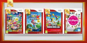 4 nouveaux jeux Nintendo Select sur Wii