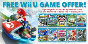 Un Mario Kart 8 acheté, un jeu offert