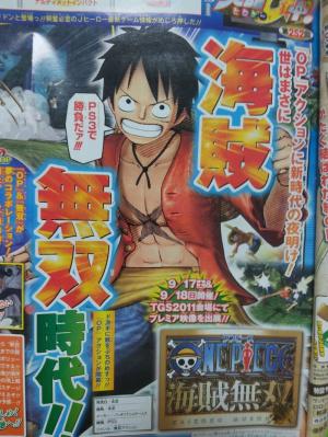 Un nouveau One Piece sur PS3