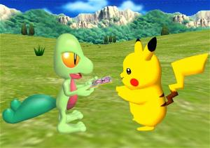 Un nouveau Pokemon annoncé sur Wii