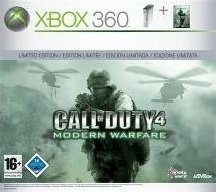 Xbox 360 : le pack CoD 4