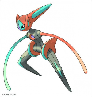 """Pokemon Emerald : Le Deoxys """"Speed Form"""""""