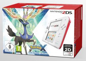 Pokémon X/Y en bundle avec la 2DS