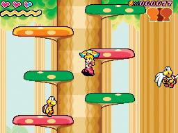 Images : Super Princess Peach en action