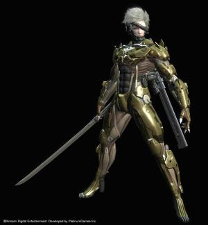 Une PS3 aux couleurs de Metal Gear Rising : Revengeance