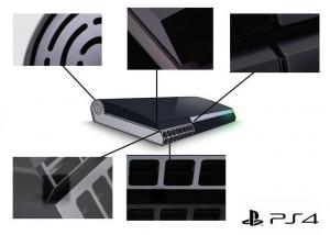 PS4 : Le design de la console reconstitué