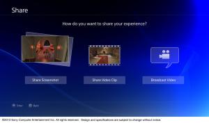 PS4 : Images de l'interface