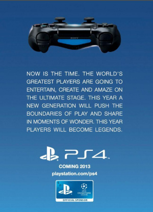 La PS4 sortira officiellement en 2013