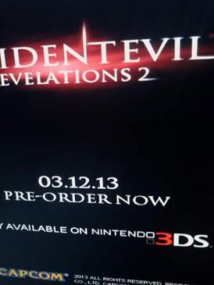 Resident Evil : Revelations 2 pour décembre ?