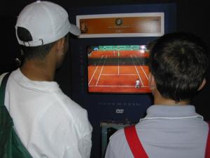 Espace d'animation Roland Garros