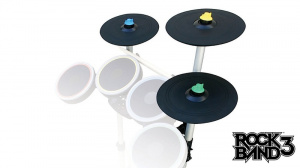 Les instruments de Rock Band 3