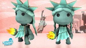 La statue de la liberté dans LittleBigPlanet