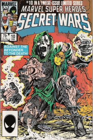 Marvel dépose la marque Guerres Secrètes